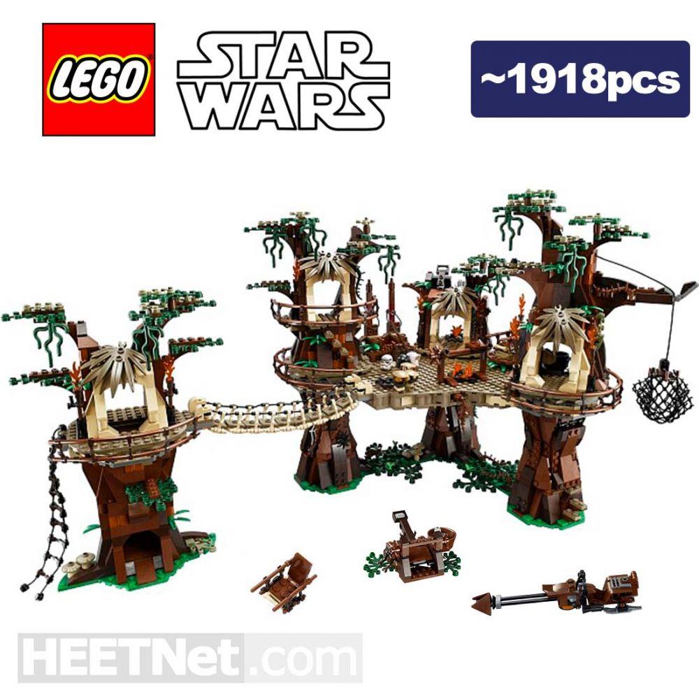 Lego Loose Decoration With Box Star Wars Ewok Village Hobbydigi