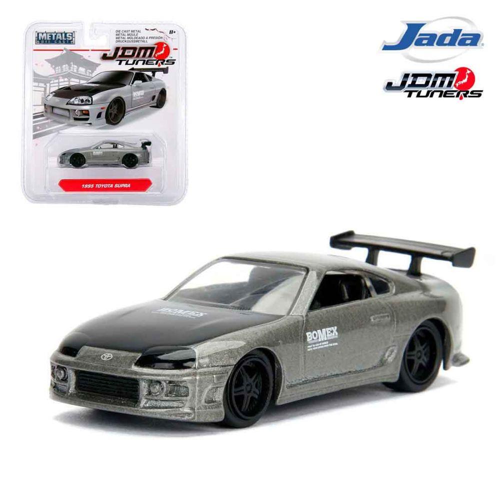 Jada Jdm Tuners 164 Diecast Model Car 1995 Toyota Supra Silver Tomica Reguler Datsun Go Blue Online Shop