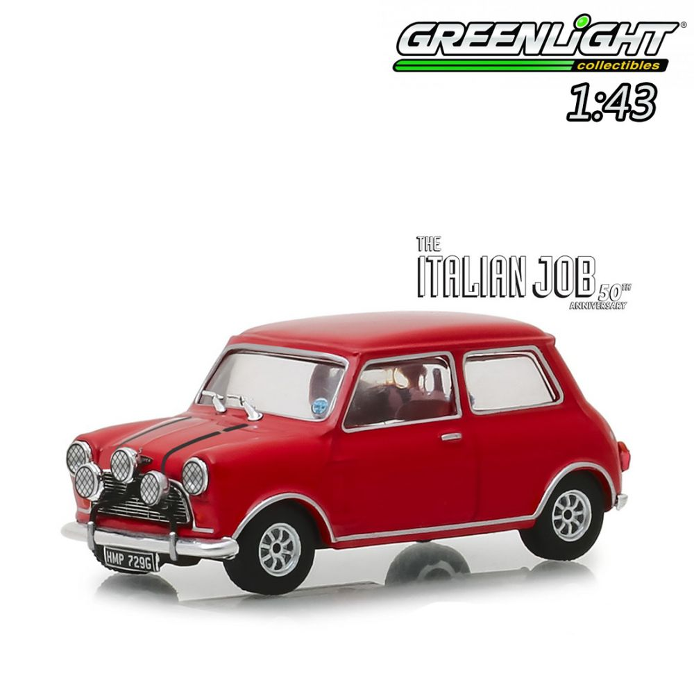 Greenlight 143 Diecast Model Car The Italian Job 1969 1967