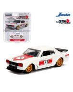 JADA JDM Tuners 1:64 Diecast Model Car - 1971 Nissan Skyline 2000 GT-R C-10