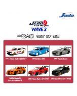 JADA JDM Tuners 1:64 Diecast Model Car - Wave 3 Set (6 Cars)