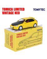 TOMYTEC Tomica Limited Vintage NEO HK Exclusive Diecast Model - TLV Honda Civic Type R EK9 99 Model Custom Version Yellow