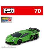 [2019新車貼] Tomica 合金車 No70 - Lamborghini Aventador SVJ