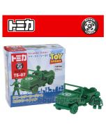 Dream Tomica 系列合金車 TS-07 - Toy Story 4 Green Army Men & Truck