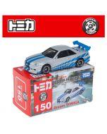 Dream Tomica系列合金車 No150 - Wild Speed BNR34 Nissan Skyline GT-R