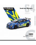 Tarmac Works HOBBY64 合金模型車 - Subaru WRX STI Super Taikyu Series 2018
