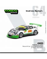 Tarmac Works HOBBY64 1:64 合金模型車 - Porsche 911 GT3 R Macau GT Cup - FIA GT World Cup 2016 2nd #912 Kévin Estre