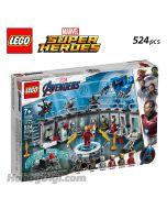 LEGO Marvel Superheroes 76125: Iron Man Hall of Armour