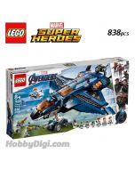 LEGO Marvel Superheroes 76126: Avengers Ultimate Quinjet