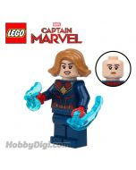 LEGO 散裝人仔 Marvel: Captain Marvel 2019 with power energy elements
