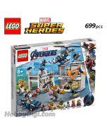 LEGO Marvel Superheroes 76131: Avengers Compound Battle
