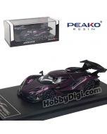 Peako Peako64 1:64 合金模型車 - Apollo IE Purple (Standard) Limited 1000pcs