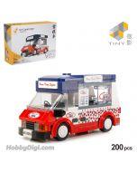 Tiny 微影 Block Diorama Series - V03 香港雪糕車 (200pcs)