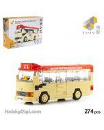 Tiny 微影 Block Diorama Series - V04 香港豐田Coaster紅色小巴 (274pcs)
