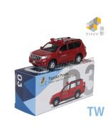 Tiny 微影 City 合金車 TW03 - Toyota Prado 台灣 臺北市政府消防局