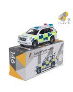 Tiny 微影 City 合金車 146 - Toyota Prado 警隊交通部