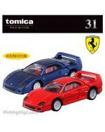 Tomica Premium 合金車 - 31 Ferrari F40 一套兩架