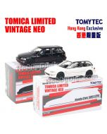 TOMYTEC Tomica Limited Vintage NEO 香港獨家限量合金車 - TLV- Honda Civic SiR II Group A 一套兩架