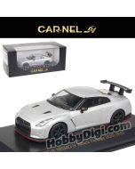 CarNel models 1:64 Diecast Model Car - Nissan GT-R Nismo N Attack Package 2017 Silver