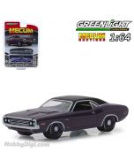Greenlight 1:64 合金車 - 1971 Dodge HEMI Challenger R/T Plum Crazy Houston 2018 (MECUM AUCTIONS S3)
