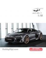 GT SPIRIT 1:18 樹脂模型車 - AUDI R8 DECENNIUM (Matt Daytona Gray)