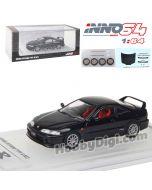INNO64 1:64 合金模型車 - HONDA INTEGRA TYPE R DC2 1996 Black With Extra Wheels & Extra Decals Sheet