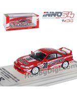 "INNO64 1:64 合金模型車 - HONDA INTEGRA TYPE-R DC2 #30 ""GATHERS"" - Super N1 Endurance Race 1996 Class 3 Champion"