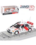 INNO64 1:64 合金模型車 - MITSUBISHI LANCER EVOLUTION III #7 Safarari Rally 1996