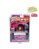 Johnny Lightning 50th Anniversary 1:64 MiJo Exclusives 限量版合金車 - Hummer H2 Pink Limited 2,400