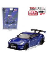 TSM 1:64 Mini GT X Mijo Exclusive 限定版合金車 - Nissan GT-R R35 LBW Liberty Walk (1 of 6,000)