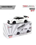 TSM 1:64 Mini GT 合金車 - LB★WORKS Nissan GT-R R35 Type 1Rear Wing ver 1+2 White (右手軚)