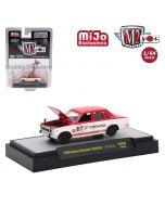 M2 Machines Mijo Exclusives Auto Japan MJS09 1:64 Diecast Model Car - 1969 Datsun Bluebird 1600 YOKOHAMA