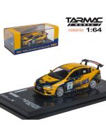 Tarmac Works HOBBY64 合金模型車 - Mitsubishi Lancer Evo X Super Taikyu Series 2008 OHLINS Livery