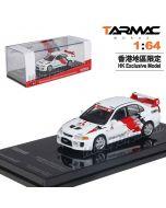 Tarmac Works HOBBY64 Limited Edition Model Car - Mitsubishi Lancer Evo V Ralliart Presentation Edition