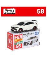 [2018新車貼] Tomica 合金車 No58 - Honda Civic Type R
