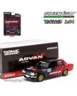Tarmac Works x Greenlight 1:64 合金車 - ADVAN Datsun 510