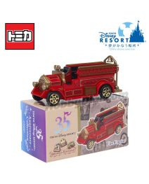 Tomica 東京迪士尼限定合金車 - 35th Anniversary Fire Engine
