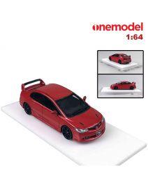 One Model 1:64 樹脂模型車 - Honda Civic Mugen RR