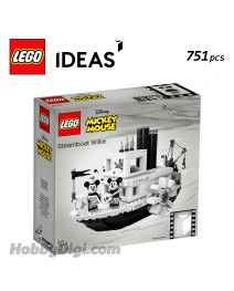 LEGO Ideas 21317: 汽船威利號 Steamboat Willie