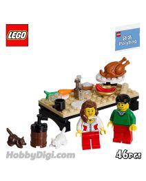 LEGO PolyBag 40056: Thanksgiving Feast