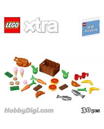 LEGO Xtra Polybag 40309: Food Accessories