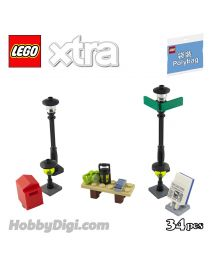 LEGO Xtra Polybag 40312: Streetlamps