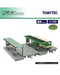 TOMYTEC Diorama Collection 1:150 場景 情景 122 - 巴士站C