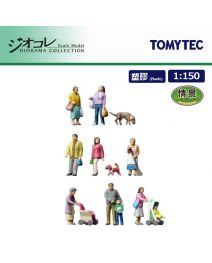 TOMYTEC Diorama Collection 1:150 情景 The human 106 - Residential People