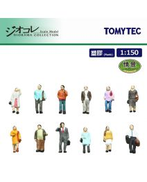 TOMYTEC Diorama Collection 1:150 人偶 116 - 走路的人