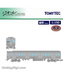 TOMYTEC Diorama Collection 1:150 鐵道模型 - 大阪市交通局 地下鐵御堂筋線 30系 不銹鋼轎車 EXPO'70 外加4車卡 套裝