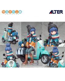 Alter 1/10 PVC模型 - 志摩凜 with 電單車