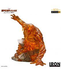 Iron Studios BDS Art Scale Polystone 1/10 模型 - 蜘蛛俠:決戰千里 熔岩人
