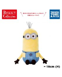 Takara Tomy 毛絨公仔 - Beans Collection Minions Kevin