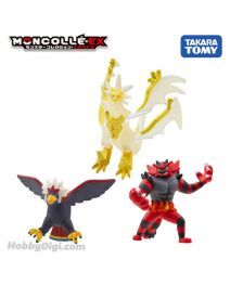 Takara Tomy Pokemon Moncolle EX Figure - 最強對戰套裝 Vol. 1